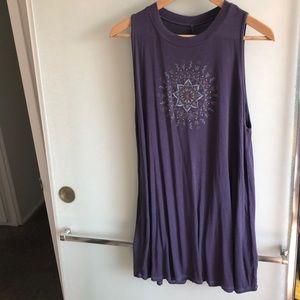 Boho ModCloth tank top dress